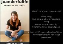 juanderfulife minimalism for pinoys