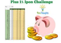 plus 1 percent ipon challenge